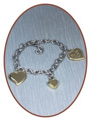 Stainless Steel Ash Bracelets