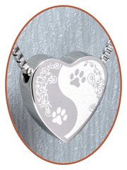 Pets cremation jewelry