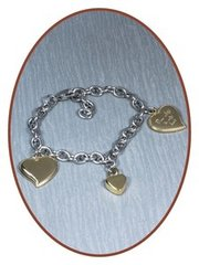 Bracelets with filling screw