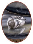 Close2Me© 'Always With Me' Sterling Zilveren Haarlok Ring - CM015H