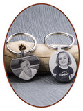 Stainless Steel Remembrance Key-ring  - KEY14_