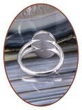 JB Memorials 925 Sterling Silver Cremation Design Ring -RB100A_