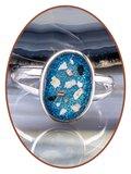 JB Memorials Sterling Zilveren Dames Design As Ring - RB100A
