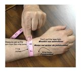 Stainless Steel / Silicone Cremation Ash Bracelet  - KHA006_