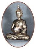 Midi Urn/ Memorybeeld Thai 'Buddha' 27cm - BU76
