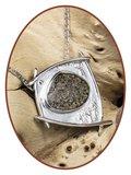 Close2Me© 'Unique' Sterling Zilveren Ashanger - CM001