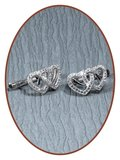 925 Sterling Silver Special Ash Earrings   - EBB7723_