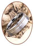 JB Memorials Tungsten Carbide As Ring - WR010