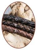 JB Memorials Stainless Steel Leather Men's Ash Bracelet - ZMA234S_