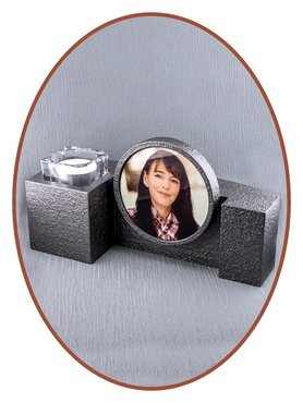 JB Memorials Midi Ash Urn with sublimation Picture - HM444