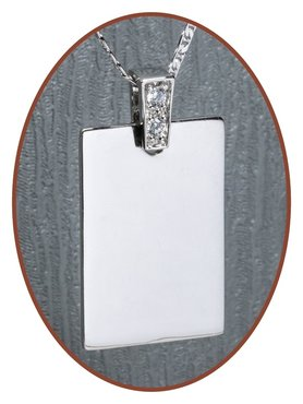 925 Sterling Silver Engraving Pendant - ZG03