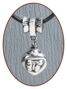 925 Sterling Silver Ash Charm  - Z014