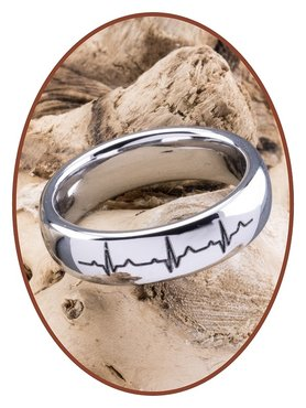 Tungsten Carbide Ladies Remembrance Ring - TUR7401