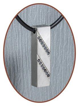 Titanium JB Memorials Premium Design Cremation Pendant - T009