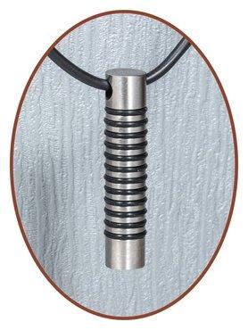 Titanium JB Memorials Premium Design Cremation Pendant - T013