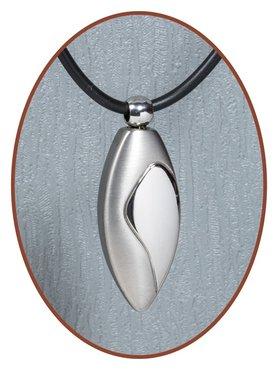 Titanium JB Memorials Premium 'Tear' Design Cremation Pendant - T003