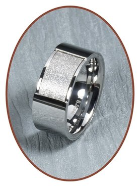 316L Stainless Steel Text Remembrance Ring - RSSD02