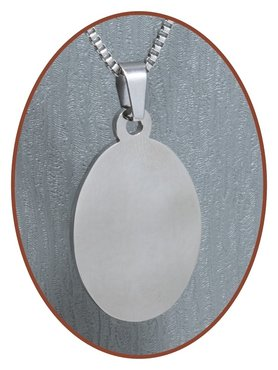 Stainless Steel Engraving Remembrance Pendant - 2533SS
