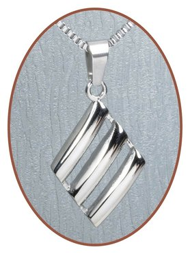 316L Stainless Steel JB Memorials Cremation Pendant - RSP039