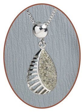 316L Stainless Steel JB Memorials Special Cremation Pendant - RSP047