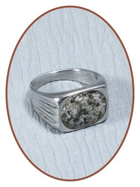 Stainless Steel Cremation Ring - RB133