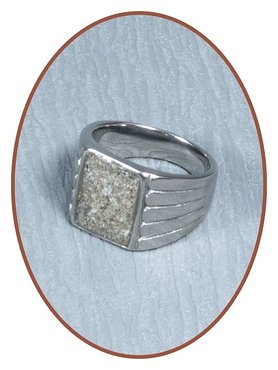Stainless Steel Cremation Ring - RB134