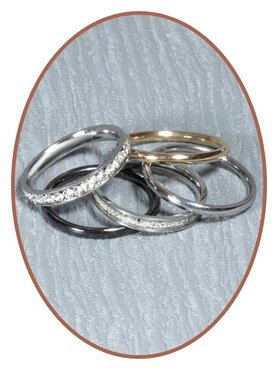 JB Memorials Stainless Steel Cremation Ash Ring - RB400