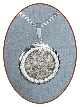 316L Stainless Steel JB Memorials Cremation Pendant - RSP006B