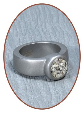 Stainless Steel Cremation Ring - RB125