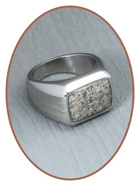 Stainless Steel Cremation Ring - RB080