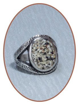 Stainless Steel Cremation Ring - RB098