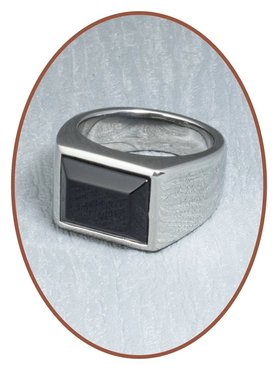 Stainless Steel Cremation Ring - RB043