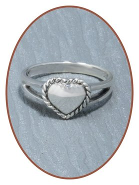 925 Sterling Silver Cremation Ring - RB012