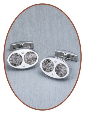JB Memorials 316L Stainless Steel Mens Cufflinks - MK002
