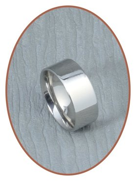 316L Stainless Steel Text Remembrance Ring - PFX2447