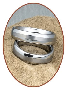 Forever Love Collection Tungsten Carbide Relation Rings - KR8056