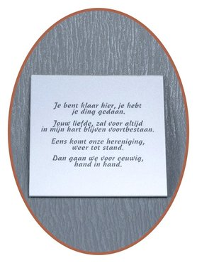 Lasermark Reverse Engravable Memorial Plaque - LG019