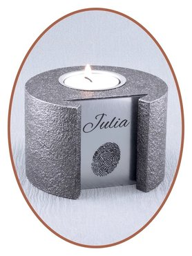 Mini Ash Urn 'Steel' - HM360A