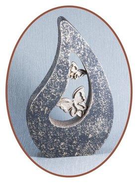 Ash Urn Tear  Bluish Black - HM319B