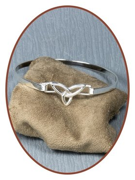 925 Sterling Silver Ladies Cremation Ash Bracelet  - AB087