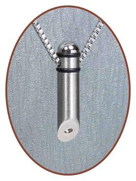 Stainless Steel JB Memorials Premium Design Cremation Pendant  - B001