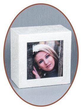Mini Ash Urn with Picture - HM294F