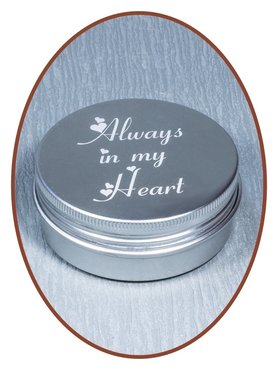 Aluminium Cremation Ash-remembrance-box - AL005