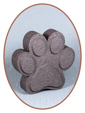 Mini Ash Urn 'Paw Print' in Different Colors - HM302