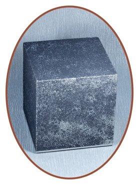 Midi Ash Urn In Old Steel Effect - HM315