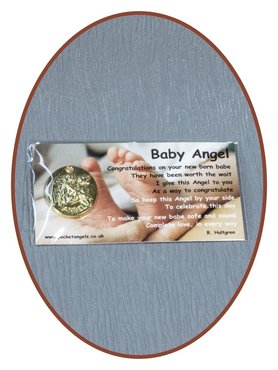 Angel Coin 'Baby Angel' With Card - CARD01