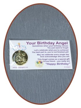 Angel Coin 'Your Birthday Angel' With Card - CARD05