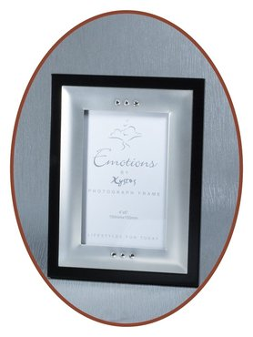 Silver Plated Remembrance Frame - GA056