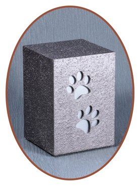 Mini Ash Urn 'Paw Prints or Hearts' - HM293
