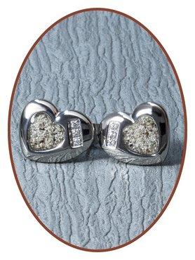 316L Stainless Steel JB Memorials Cremation Earrings - EBB001